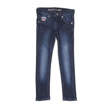 Pepe Kids Casual Wear Blue Jeans For Girls