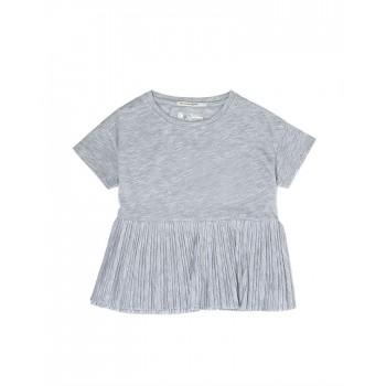 Pepe Kids Girls Grey Casual Wear T-Shirt