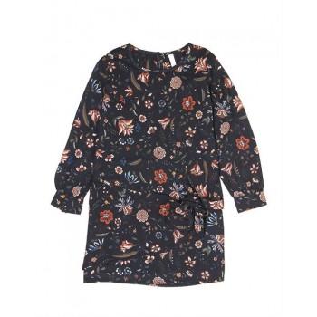 Pepe Kids Girls Black Casual Wear Dress