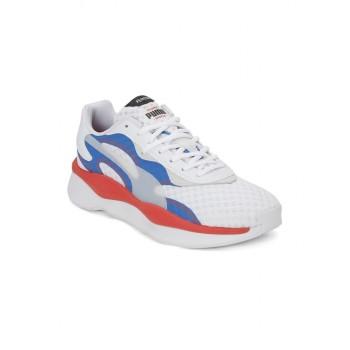 Puma Unisex White Running Shoes
