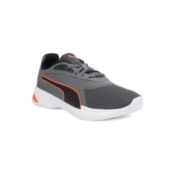 Puma Unisex Grey Casual Wear Sneakers for Kids
