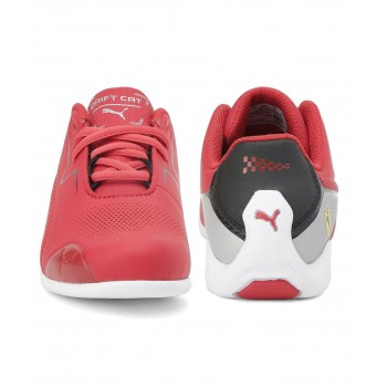 Puma Unisex Red Casual Wear Sneakers for Kids