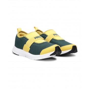 Puma Unisex Green Casual Wear Sneakers for Kids