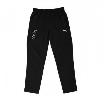 Puma Kids Black Sports Wear Track Pant