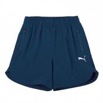 Puma Kids Blue Sports Wear Shorts
