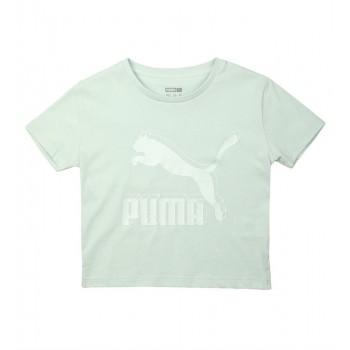 Puma Kids Green Casual Wear T-Shirt