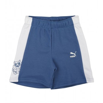 Puma Kids Blue Casual Wear Shorts