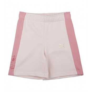Puma Kids Pink Casual Wear Shorts