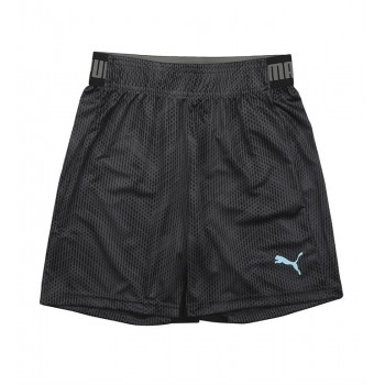 Puma Kids Black Sports Wear Shorts