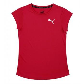 Puma Kids Red Casual Wear T-Shirt