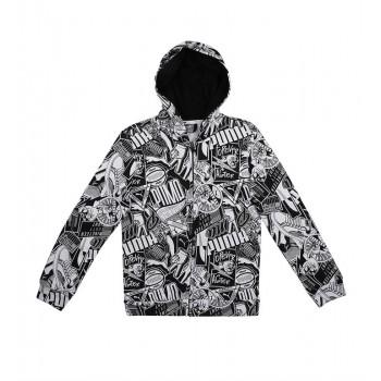 Puma Kids Black Casual Wear Jacket