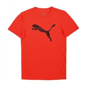 Puma Kids Red Sports Wear T-Shirt