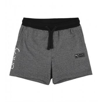 Puma Kids Black Casual Wear Shorts