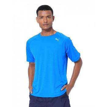 Puma Men Sports Wear Royal Blue T-Shirt