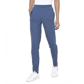 Puma Men Casual Wear Blue Track Pant