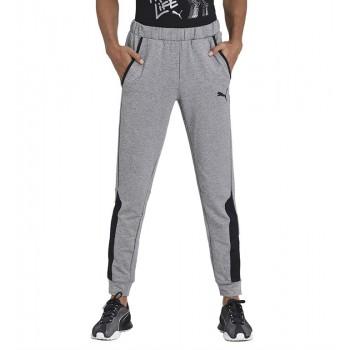 Puma Men Casual Wear Grey Track Pant