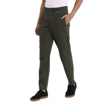 Puma Men Casual Wear Olive Track Pant