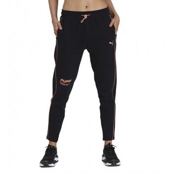 Puma Women Casual Wear Black Track Pant