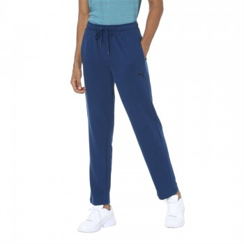 Puma Men Casual Wear Blue Track Pant