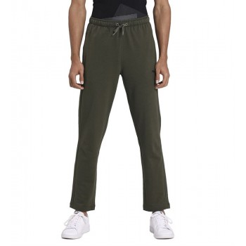 Puma Men Casual Wear Olive Track Pant