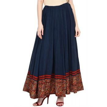 Rangriti Women Casual Wear Printed Skirt