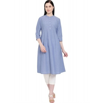 Rangriti Women Casual Wear Solid Dress