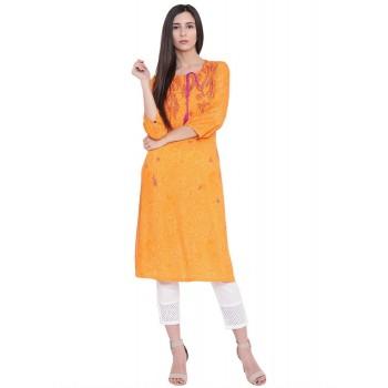 Rangriti Women Casual Wear Printed Kurta