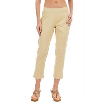 Rangriti Women Casual Wear Solid Trousers