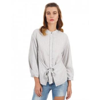 Rareism Women Casual Wear Striped Top