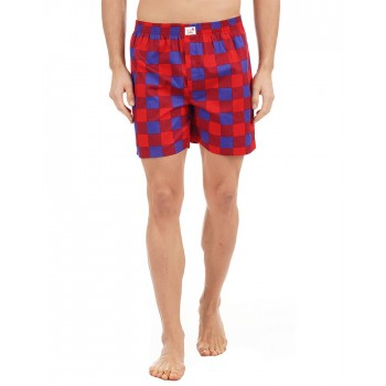 Simple Habits Casual Wear Checkered Men Boxer