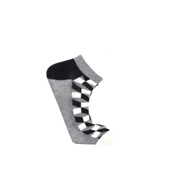 Simple Habits Unisex Combed Cotton Self Design Ankle Length Socks