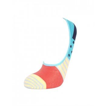 Simple Habits Unisex Combed Cotton Self Design Liner Socks