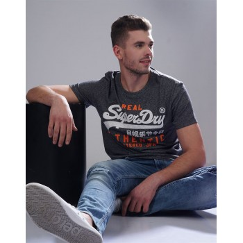 Superdry Men Casual Wear Solid T-Shirt