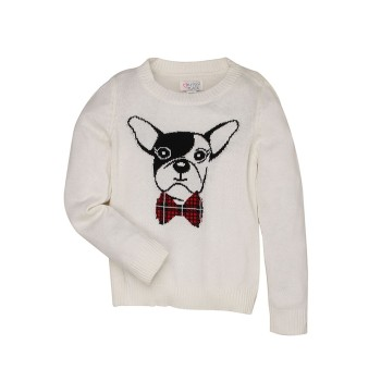 The Children's Place Girls Casual Wear Printed Sweater