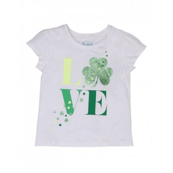 The Children's Place Girls Casual Wear Graphic Print T-Shirt