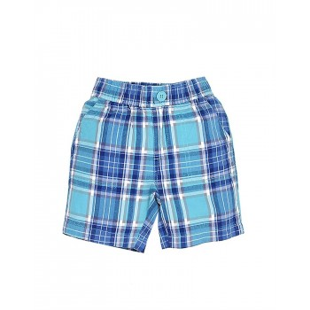 The Children's Place Boys Casual Wear Checkered Shorts