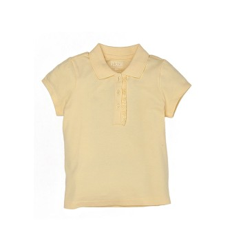 The Children's Place Girls Casual Wear Solid Polo T-Shirt