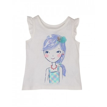 The Children's Place Girls Casual Wear Printed Top