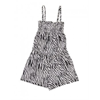 The Children's Place Girls Casual Wear Animal Print Jump Suit