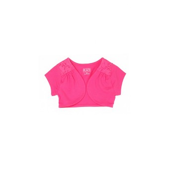 The Children's Place Girls Solid Casual Wear Shrug