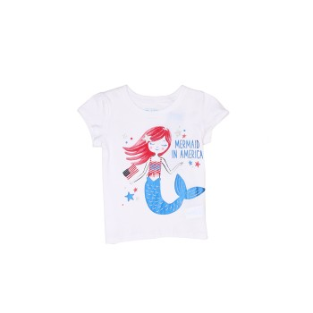 The Children's Place Baby Girl Graphic Print Casual Wear Top