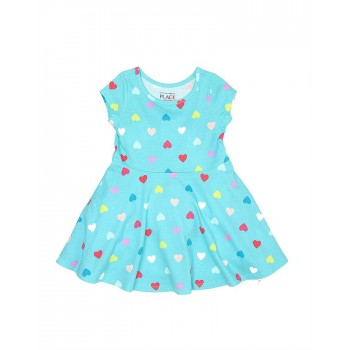 The Children's Place Girls Casual Wear Printed Dress