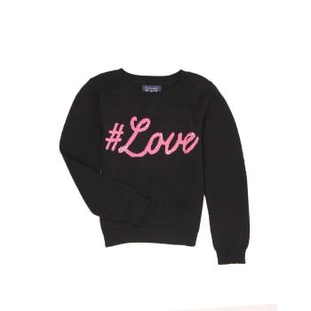 The Children's Place Girls Casual Wear Printed Sweatshirt