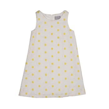 The Children's Place Girls Casual Wear Polka Print Dress
