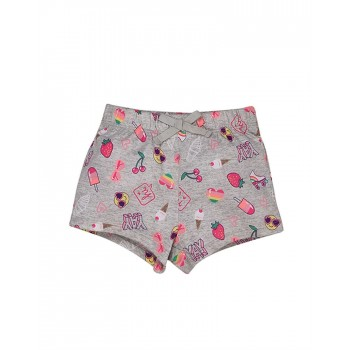 The Children's Place Girls Casual Wear Printed Shorts