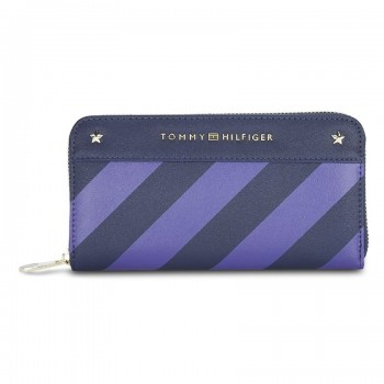 Tommy Hilfiger Leather Women Navy Blue Hand Wallet