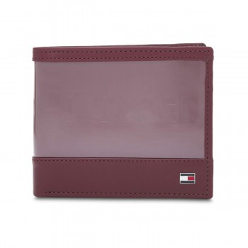 Tommy Hilfiger Men's Leather Global Coin Wallet