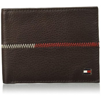 Tommy Hilfiger Men's Leather Slimfold Wallet