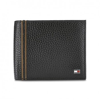 Tommy Hilfiger Men's Leather Global Coin Wallet