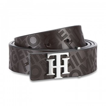 Tommy Hilfiger Men's Non Reversible Leather Belt